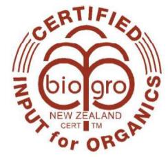 BioGrow Certified